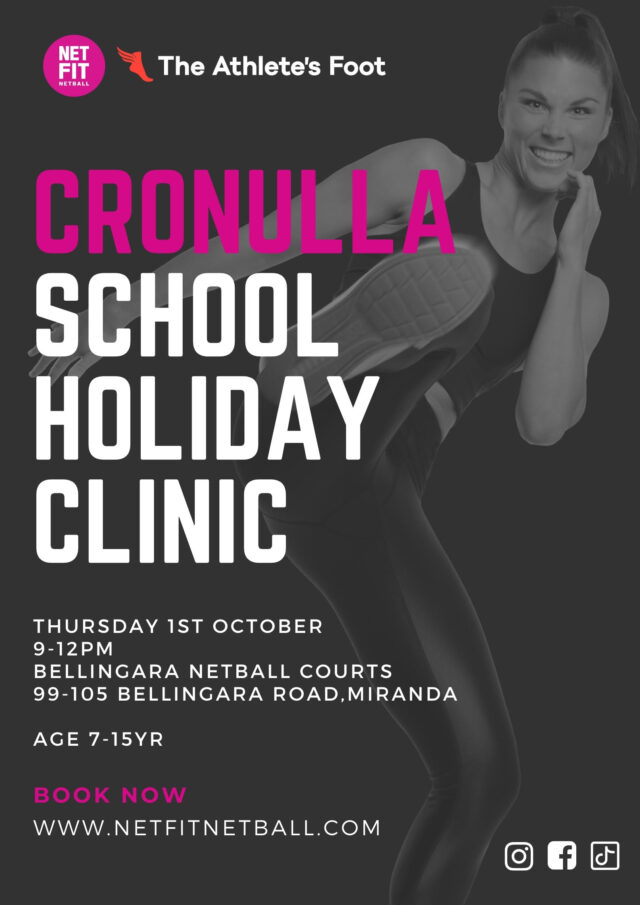 School Holiday NETFIT Netball Clinic